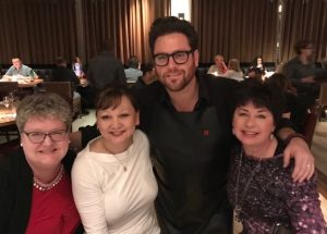 Mystic Mona and Chef Scott Conant